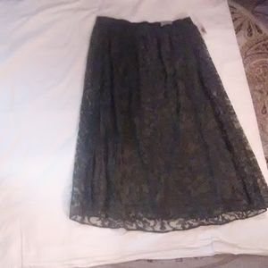 Catherines long lacy skirt